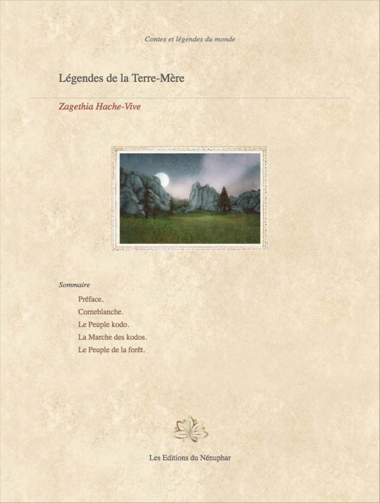 Légendes de la Terre-Mère, par Zagethia Hache-Vive Couv_32