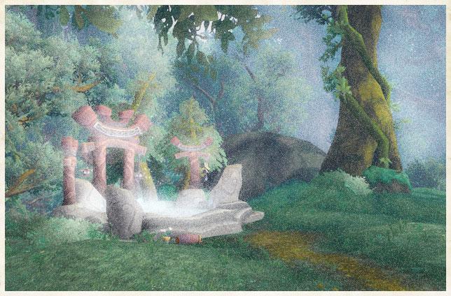 Les Puits de magie, par Meloromie De Roncegarde et Thenna Rocvent Puits